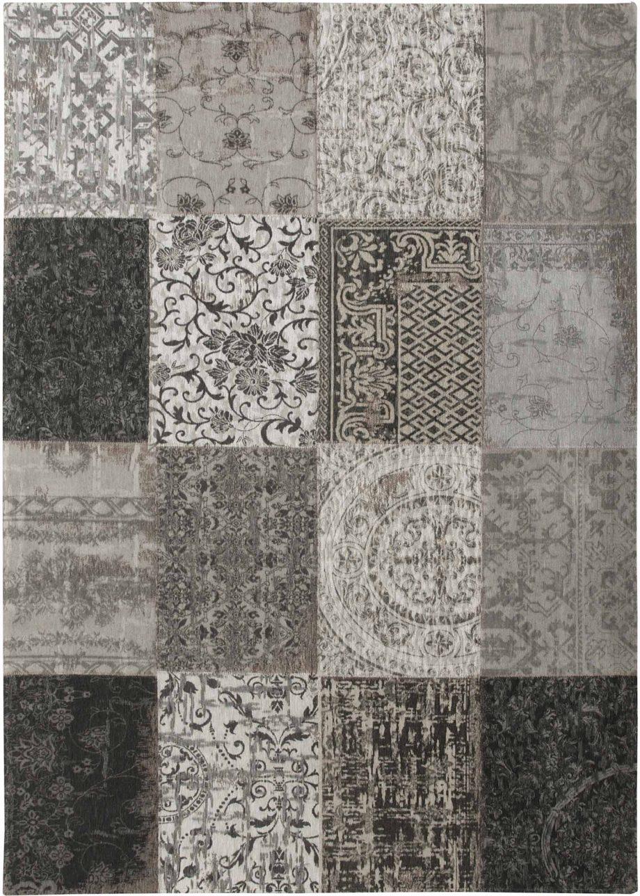 tapis Louis De Poortere CA 8101 Vintage Black White