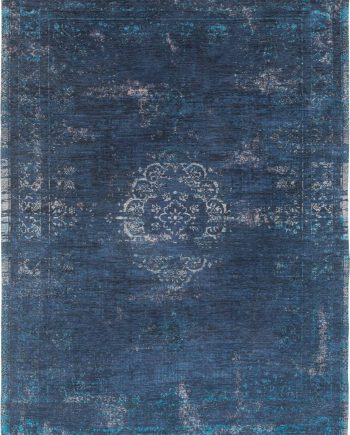 tapis Louis De Poortere CA 8254 Fading World Medaillon Blue Night
