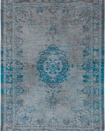 tapis Louis De Poortere CA 8255 Fading World Medaillon Grey Turquoise