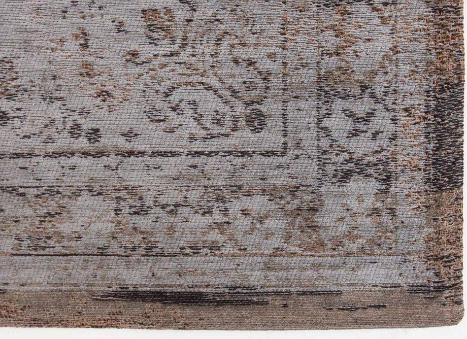 tapis Louis De Poortere CA 8257 Fading World Medaillon Grey Ebony corner