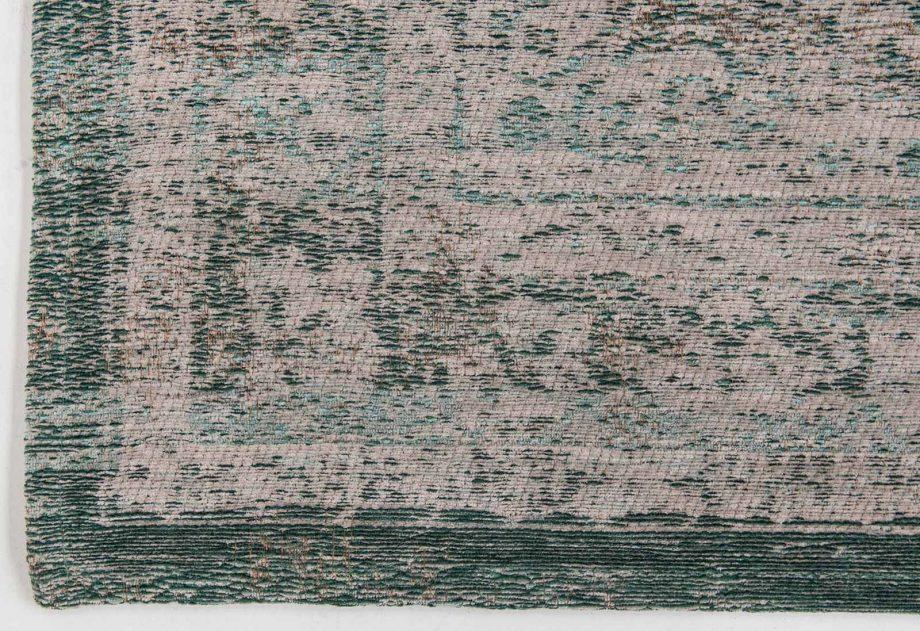 tapis Louis De Poortere CA 8259 Fading World Medaillon Jade Oyster corner