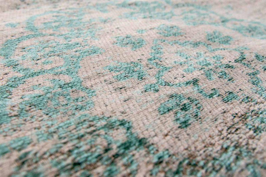 tapis Louis De Poortere CA 8259 Fading World Medaillon Jade Oyster zoom