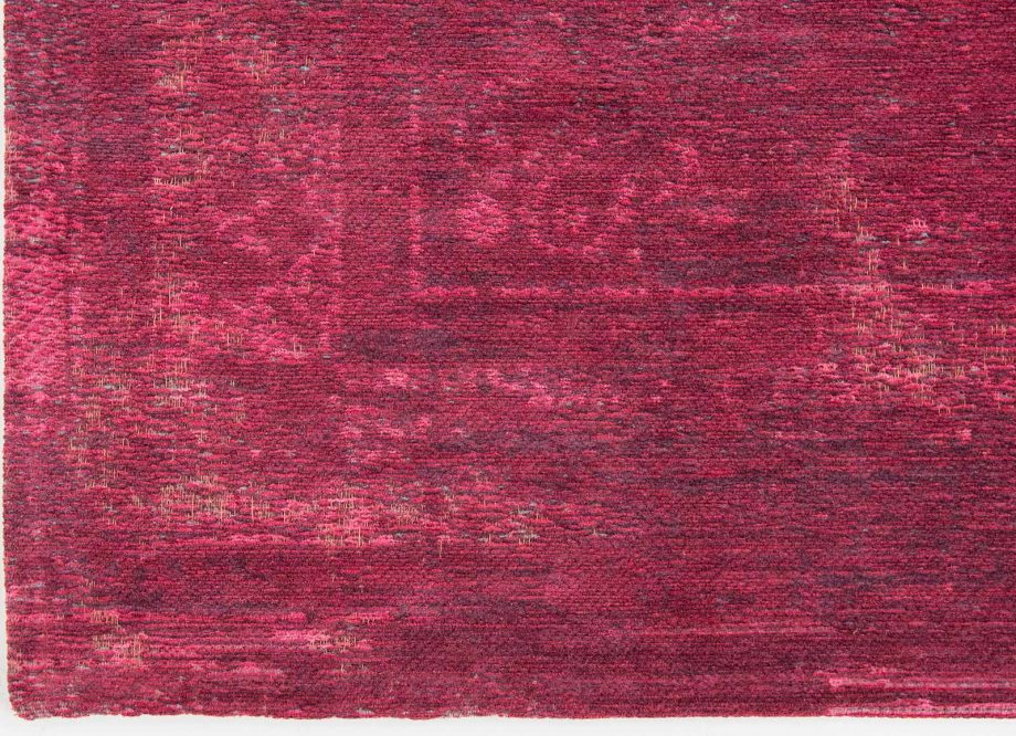 tapis Louis De Poortere CA 8260 Fading World Medaillon Scarlet corner