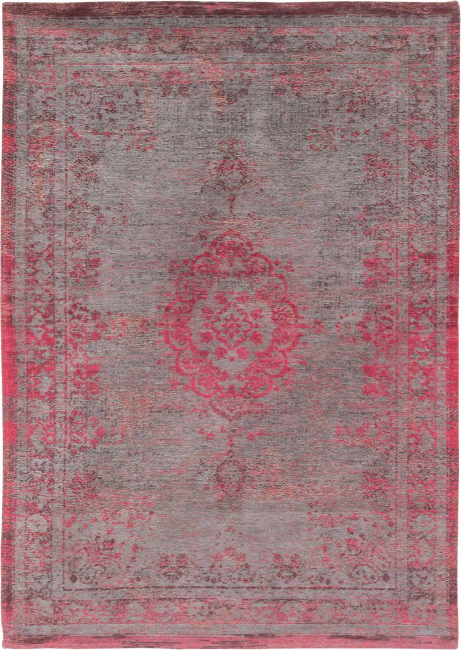 tapis Louis De Poortere CA 8261 Fading World Medaillon Pink Flash
