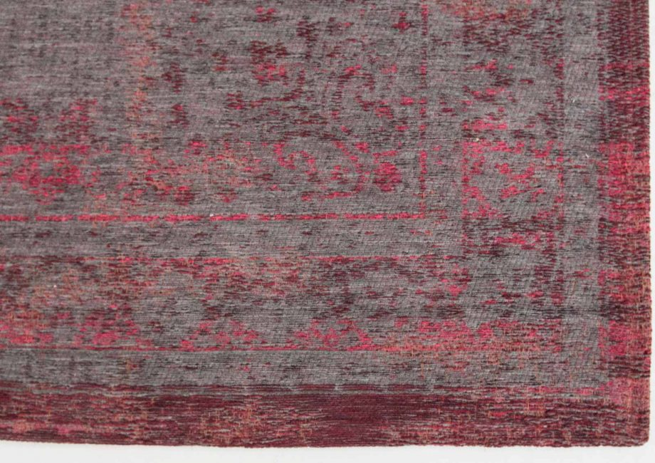 tapis Louis De Poortere CA 8261 Fading World Medaillon Pink Flash corner