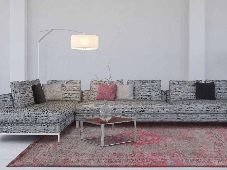 tapis Louis De Poortere CA 8261 Fading World Medaillon Pink Flash interior