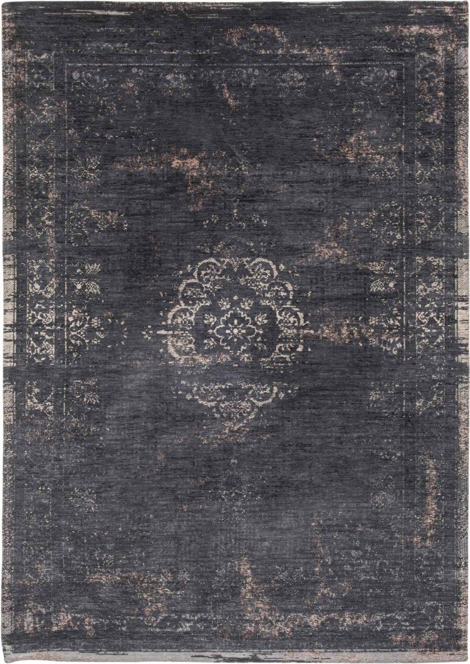 tapis Louis De Poortere CA 8263 Fading World Medaillon Mineral Black