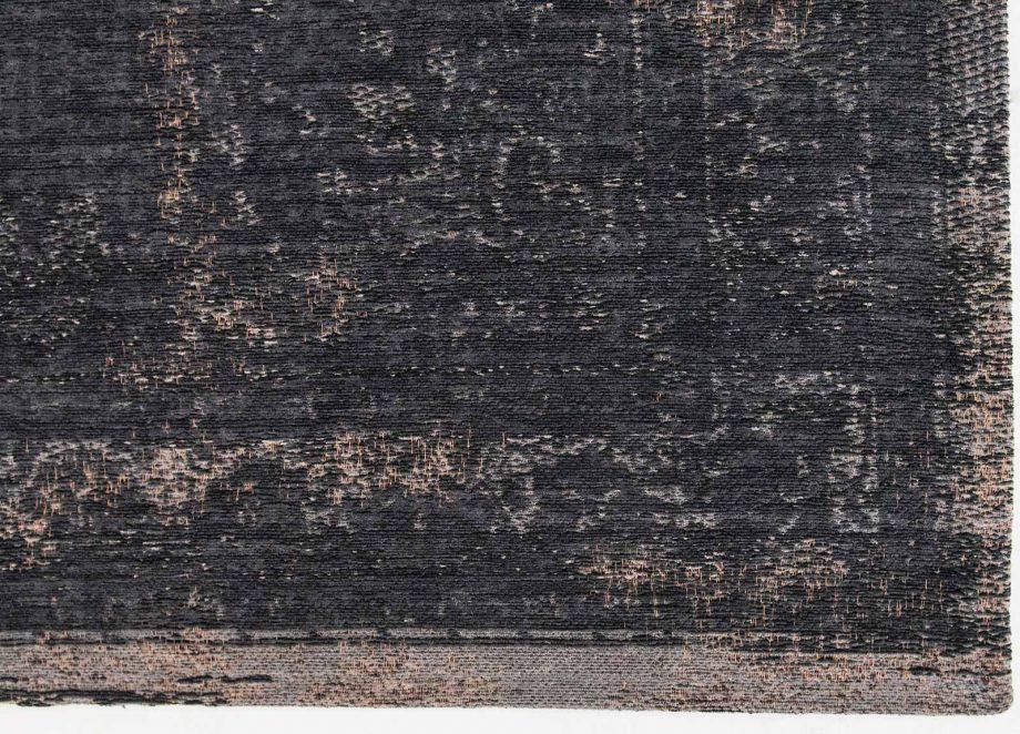 tapis Louis De Poortere CA 8263 Fading World Medaillon Mineral Black corner