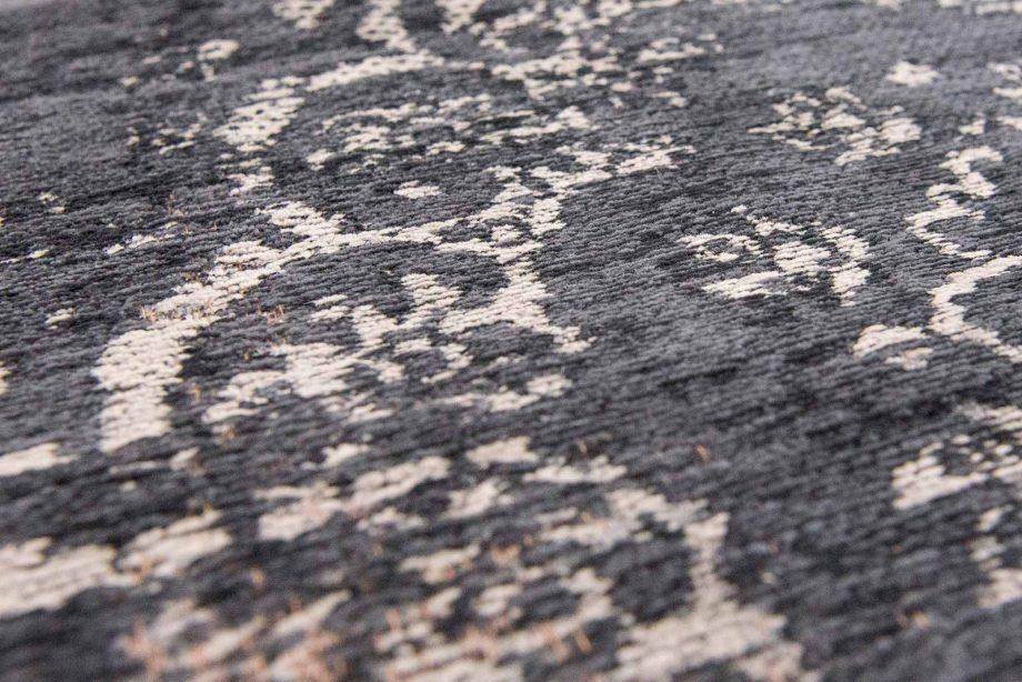tapis Louis De Poortere CA 8263 Fading World Medaillon Mineral Black zoom