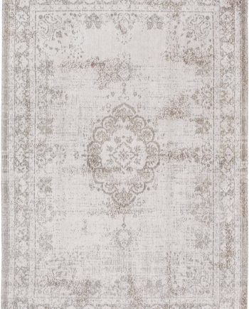 tapis Louis De Poortere CA 8383 Fading World Medaillon Salt Pepper