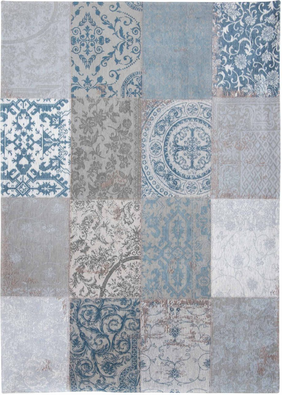 tapis Louis De Poortere CA 8981 Vintage Bruges Blue