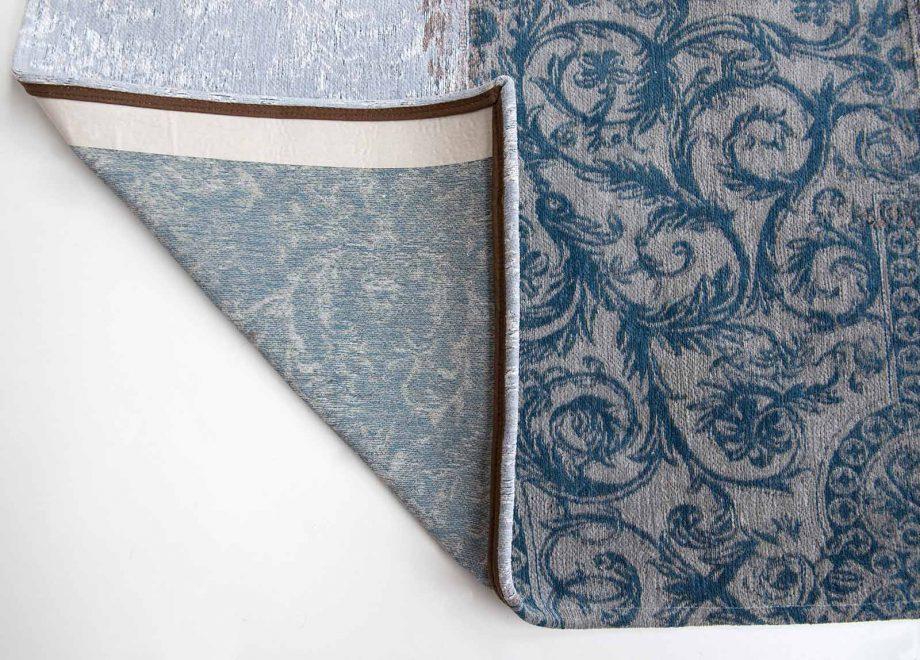 tapis Louis De Poortere CA 8981 Vintage Bruges Blue corner