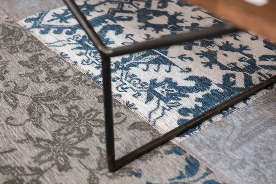 tapis Louis De Poortere CA 8981 Vintage Bruges Blue zoom 1