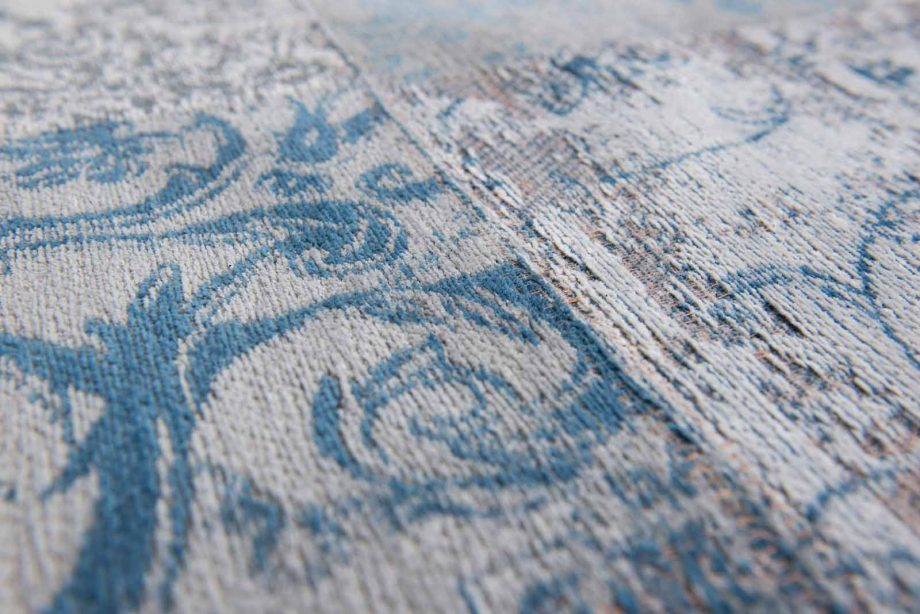 tapis Louis De Poortere CA 8981 Vintage Bruges Blue zoom