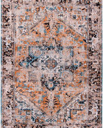 tapis Louis De Poortere CA 8705 Antiquarian Antique Heriz Seray Orange