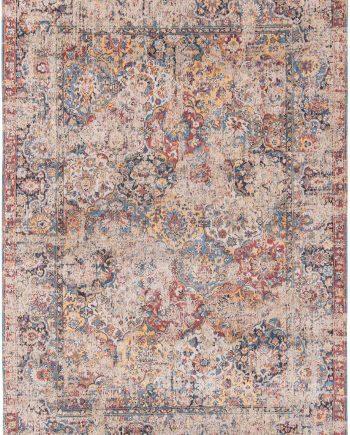 tapis Louis De Poortere CA 8713 Antiquarian Antique Bakthiari Khedive Multi