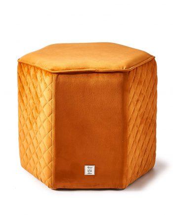 Riviera Maison pouf Parklane Pumpkin 4320002 1